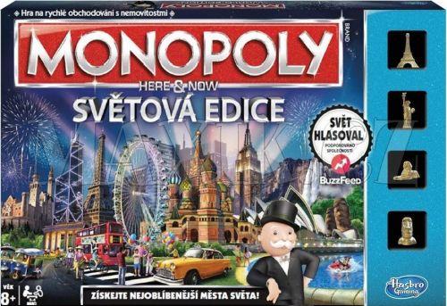 Hasbro Monopoly Here & Now Světová edice