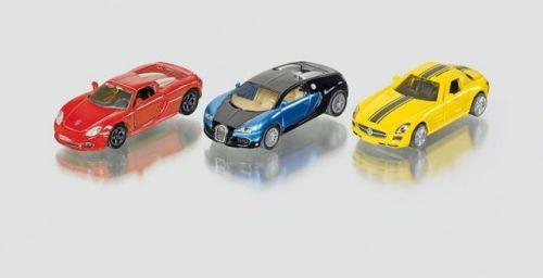 SIKU Super sada 3 sportovních aut cena od 281 Kč