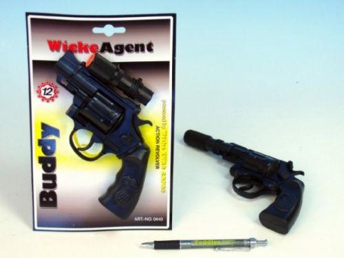 MIKRO TRADING Pistole Kapslovka Buddy s tlumičem cena od 102 Kč