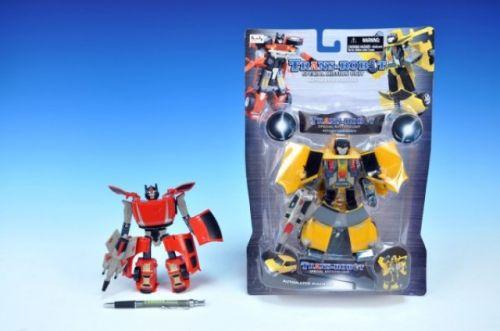 TEDDIES Transformer robot auto 17 cm cena od 0 Kč