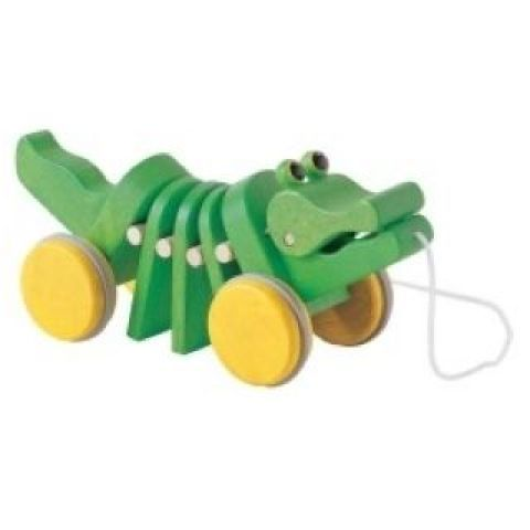 Plan Toys Tančící aligátor tahadlo cena od 0 Kč