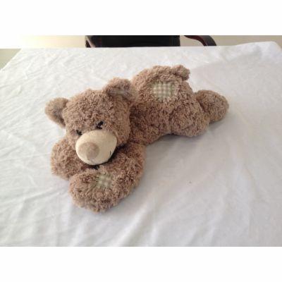 Alltoys Medvídek plyšový ležící 30 cm cena od 135 Kč