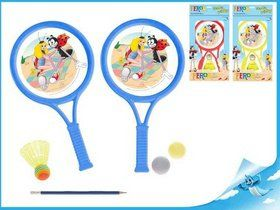Mikro hračky Sada tenisová Ferda Mravenec 2 pálky cena od 91 Kč