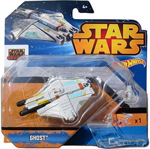 Mattel Hot Wheels SW kolekce hvězdných lodí Ghost CGW62 cena od 249 Kč