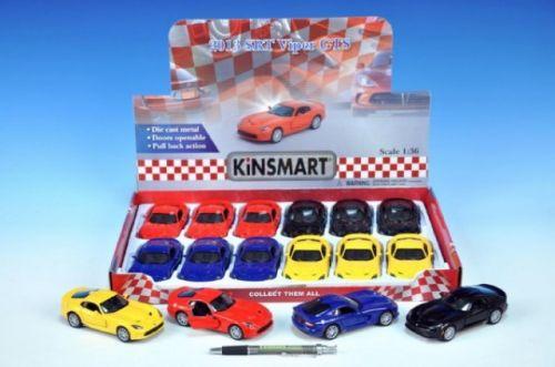MIKRO TRADING Auto Kinsmart Dodge Viper GTS 12 cm cena od 125 Kč