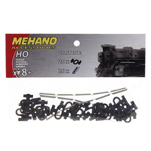 Mehano Rail clips & connectors set cena od 0 Kč