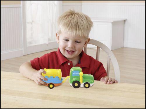 VTech Tut Tut Baby Flitzer Traktor & Prives cena od 343 Kč