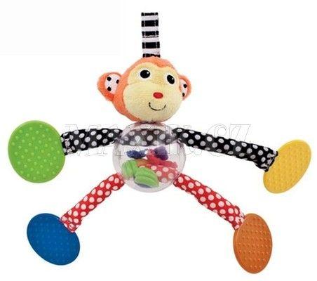 Sassy Zvířátko s tahacími tlapkami Opička cena od 208 Kč