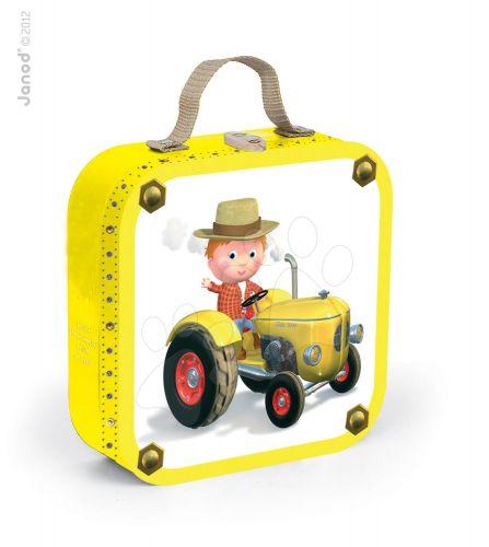 JANOD PETER'S TRACTOR v kufříku 6-9-12-16 dílků cena od 489 Kč