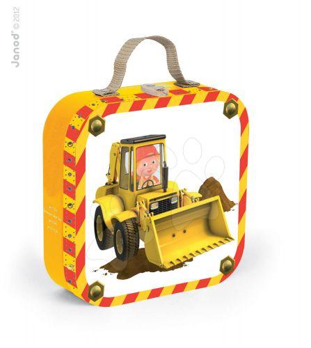 JANOD AXEL'S EXCAVATOR v kufříku 6-9-12-16 dílků cena od 489 Kč