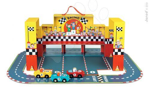 JANOD Story Set puzzle závodní dráha s auty