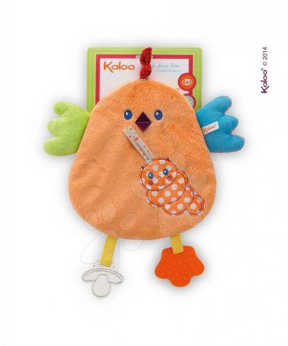 KALOO Colors-My Sweet Doudou Chick plyšové kuřátko s kousátkem