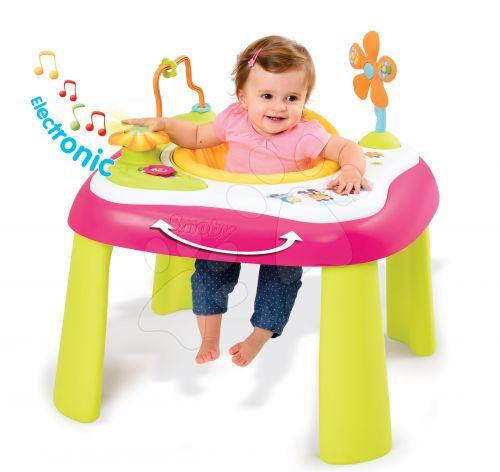 SMOBY Cotoons Youpi Multifunkčný dětský didaktický stolek cena od 1999 Kč