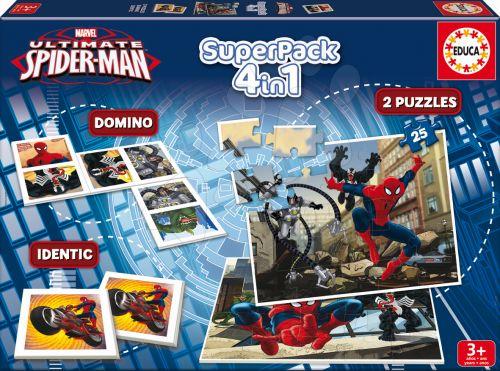 EDUCA SuperPack The Ultimate Spiderman 4v1 cena od 242 Kč