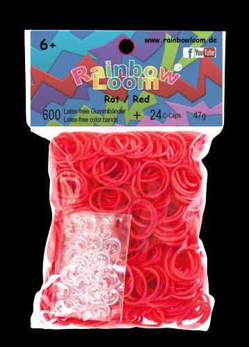 RAINBOW LOOM Original gumičky červené