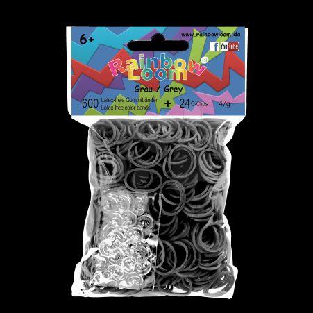 RAINBOW LOOM Original gumičky šedé