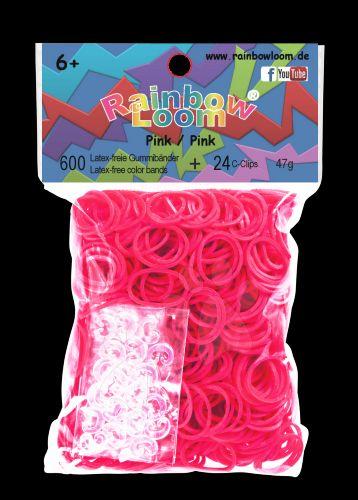 RAINBOW LOOM Original gumičky růžové cena od 139 Kč