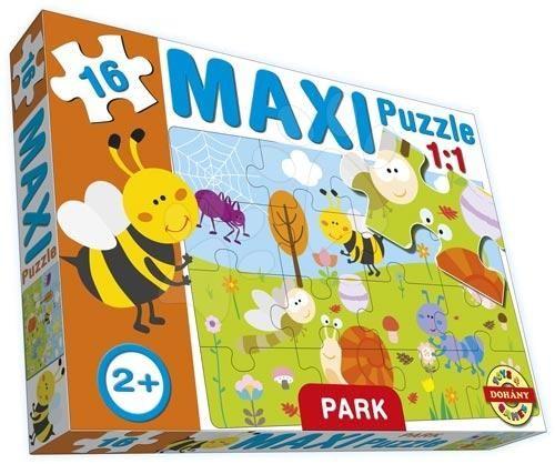 DOHÁNY baby puzzle Maxi Park 16 dílků