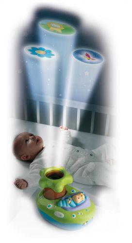 SMOBY Světelný projektor k postýlce cena od 373 Kč