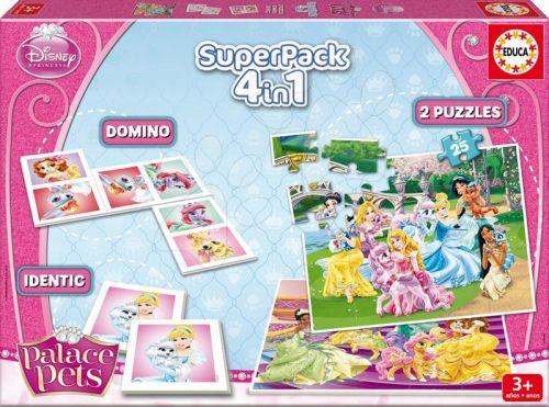 EDUCA SuperPack Palace Pets 4v1 cena od 269 Kč