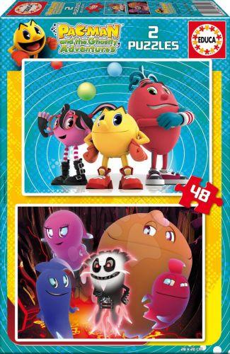 EDUCA puzzle cardboard Pac-Man 2x48 dílků