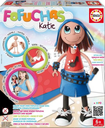 EDUCA Fofuchas Katie Rock obleč ji sama