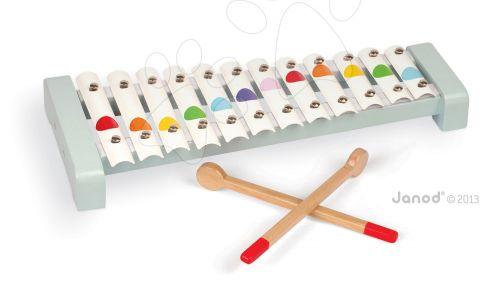 JANOD Xylofón s dřevěnými paličkami