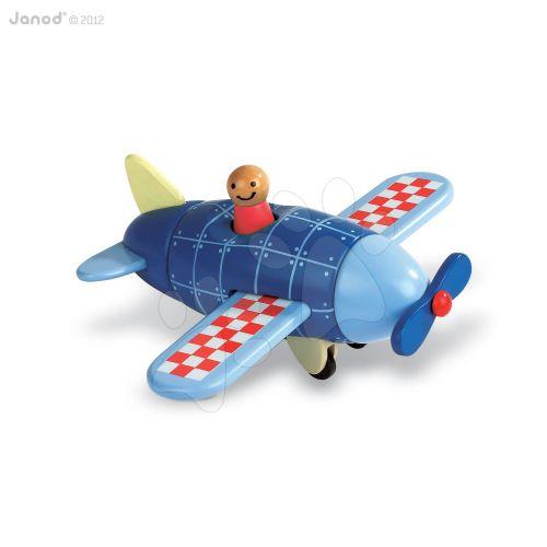 JANOD KIT MAGNET Letadlo dřevěná magnetická skládačka cena od 499 Kč