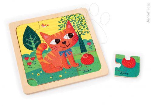 JANOD FELIX CAT kočka dřevěné puzzle cena od 199 Kč