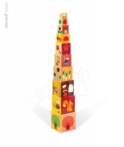 JANOD 4 ROČNÍ OBDOBÍ skládací pyramida cena od 399 Kč