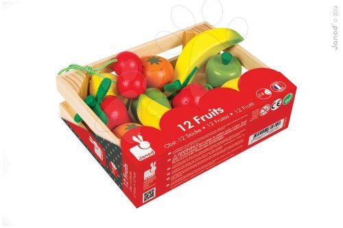 JANOD Dřevěné ovoce v bedničce cena od 0 Kč