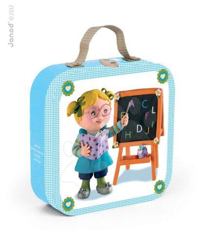 JANOD LISA PLAYS TEACHER v kufříku 6-9-12-16 dílků cena od 489 Kč
