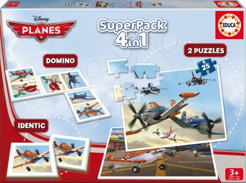 EDUCA SuperPack Planes 4v1 cena od 299 Kč