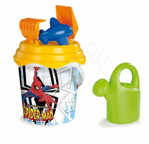 SMOBY Vědro Spiderman s konví set cena od 0 Kč