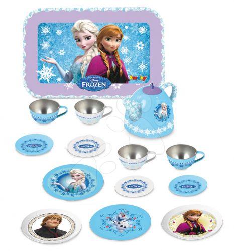 SMOBY Frozen plechová čajová souprava s čajníkem