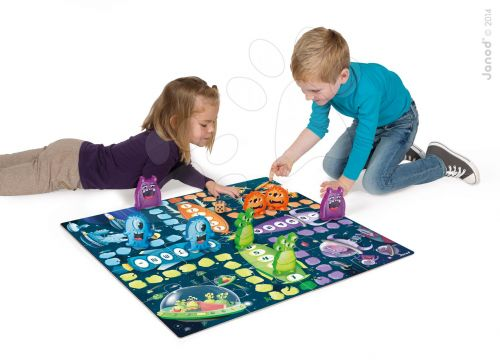 JANOD Ludo space monster game & puzzle