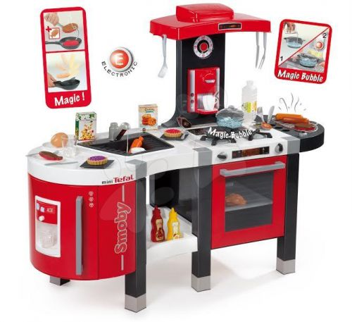 SMOBY TEFAL FrenchTouch BUBBLE&VODA elektronická kuchyňka cena od 2842 Kč