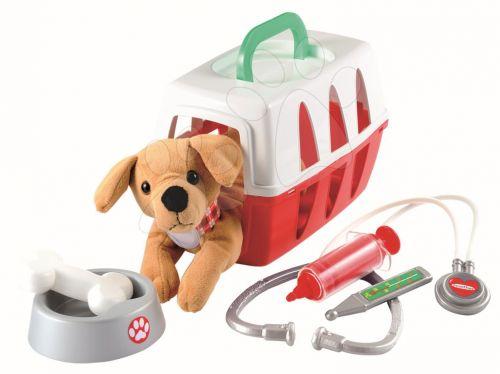 ÉCOIFFIER Lékařský košík pro pejska s mističkou a lékařskými doplňky cena od 379 Kč