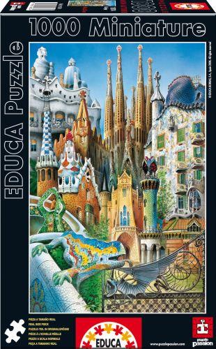 EDUCA Miniature Collage 1000 dílků