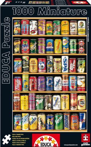 EDUCA Miniature Cans 1000 dílků