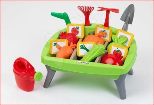ÉCOIFFIER zeleninová záhrada JARDIN&SAISONS se zeleninovými formičkami náradím cena od 469 Kč