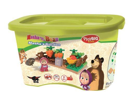 BIG PlayBIG BLOXX Masha a medvěd na zahradě