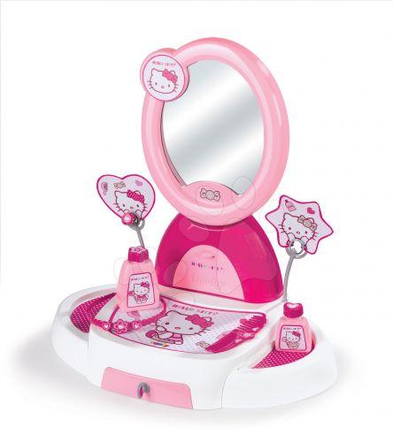 SMOBY kosmetický stolek Hello Kitty s otevírací zásuvkou a doplňky cena od 549 Kč
