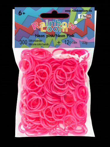 RAINBOW LOOM Original gumičky neonově růžové cena od 0 Kč