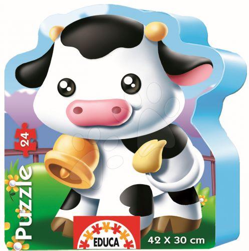 EDUCA baby puzzle silueta Kravička 24 dílků cena od 299 Kč
