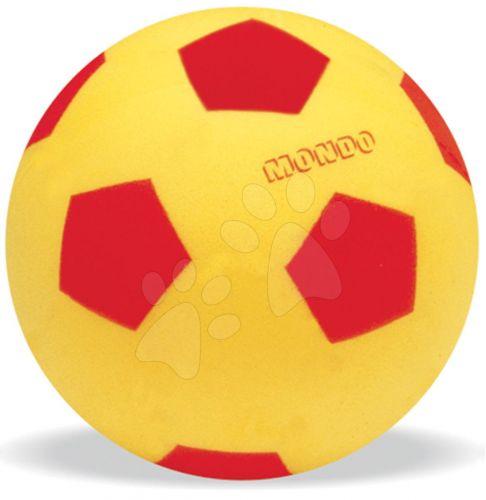 MONDO Pěnový fotbalový míč set červený, modrý, černý