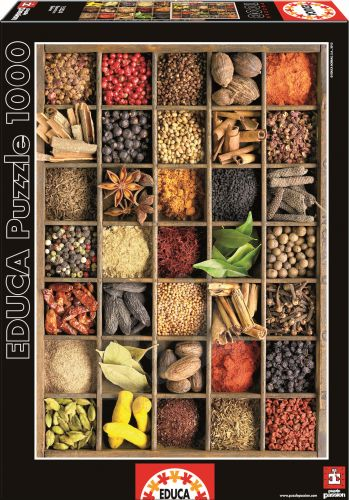 EDUCA Spices + 1000 dílků