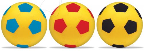 MONDO Pěnový fotbalový míč set červený, modrý, černý cena od 125 Kč