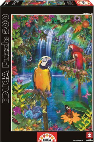 EDUCA Genuine Bird Tropical Land 500 dílků
