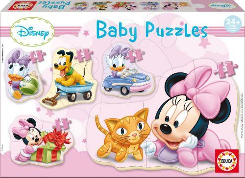 EDUCA Baby Minnie 20 dílků cena od 219 Kč